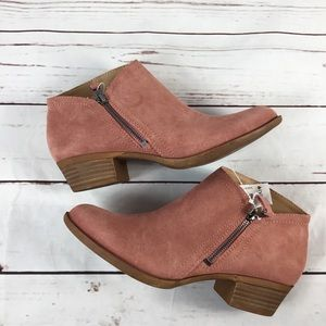 Lucky Brand Brielley2 Canyon Rose Booties NWT